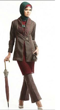 15 Trend Gambar Desain Baju Blazer Muslim 2015