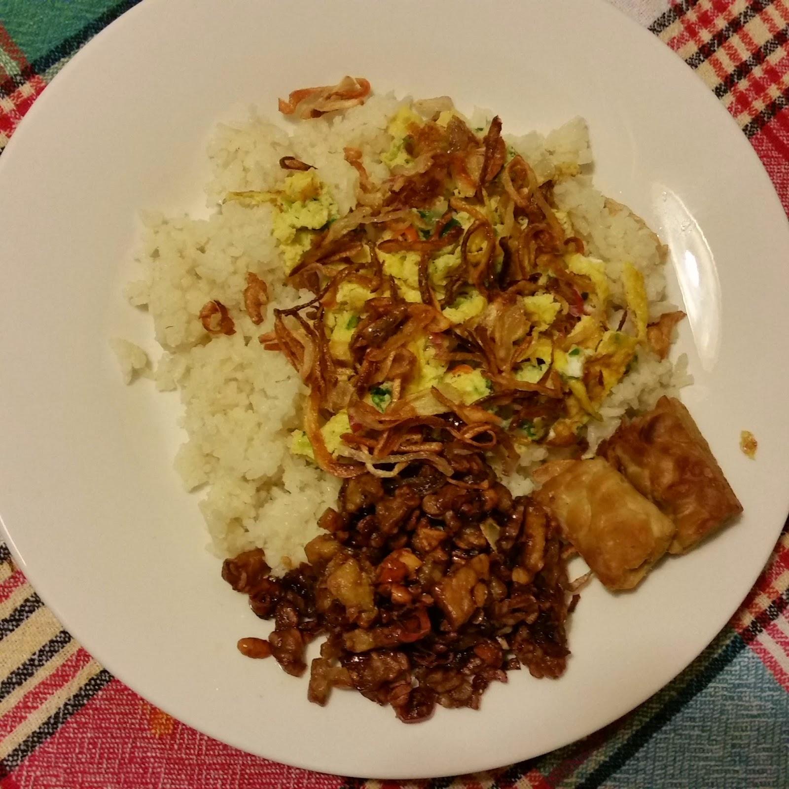 bahan-bahan membuat nasi uduk simple, gurih dan enak