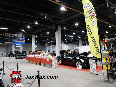 Jax Wax Display Booth Chicago World of Wheels