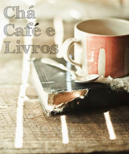 chá café e livros