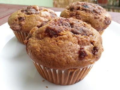 Jablecne muffiny s drobenkou