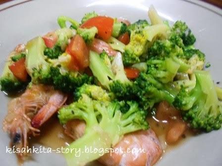 Sosis Brokoli Saus Pedas