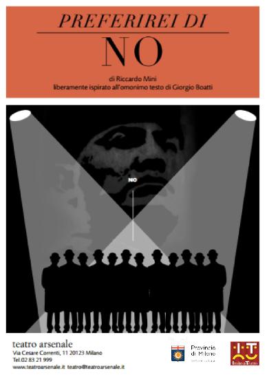 spettacoli inseriti all'interno di Invito a Teatro 2014 a Milano