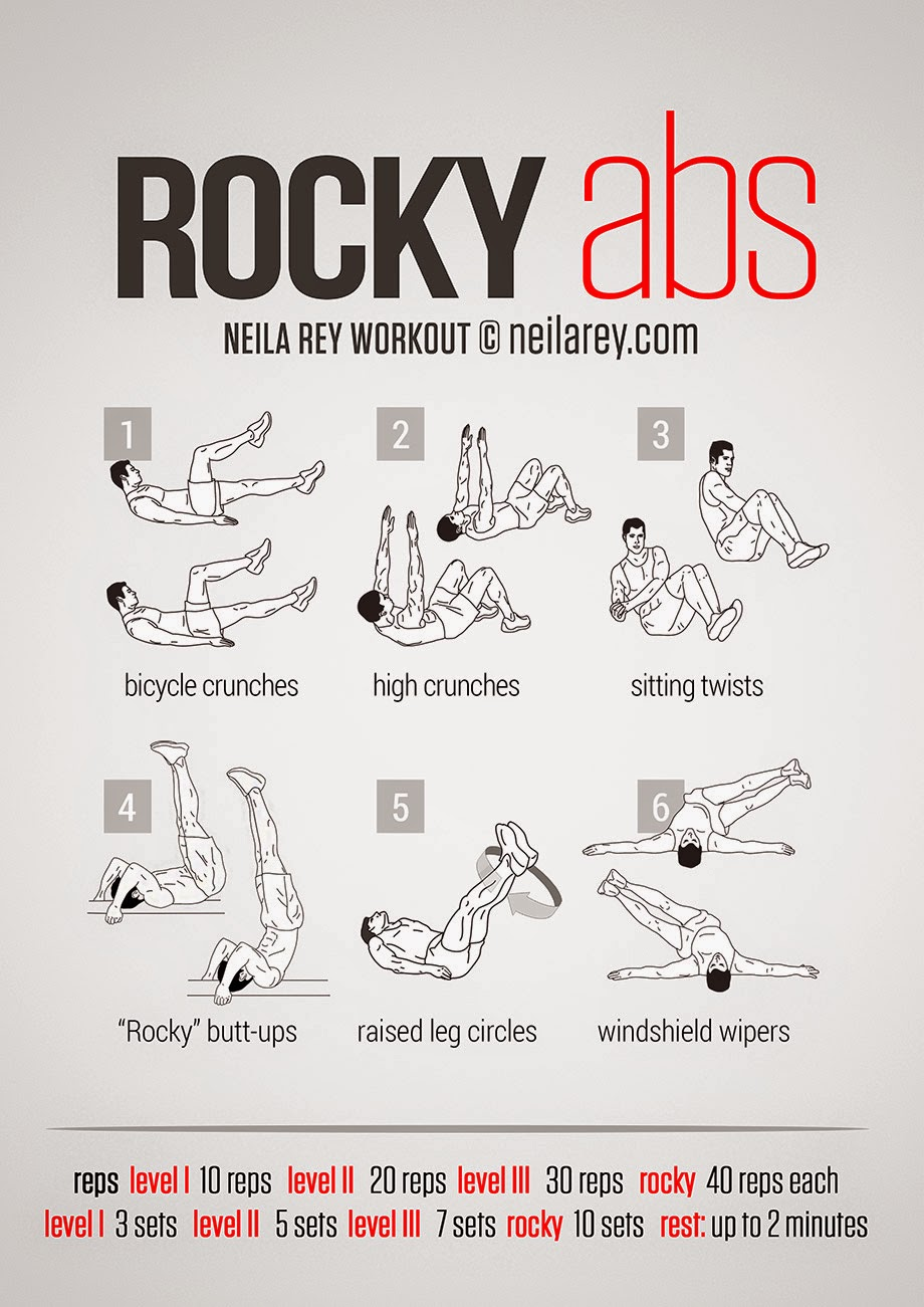 Rocky Abs Workout True Fitness Tips