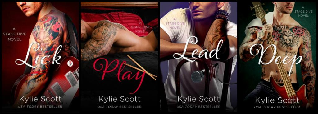Stage Dive Series 1-4  - Kylie Scott