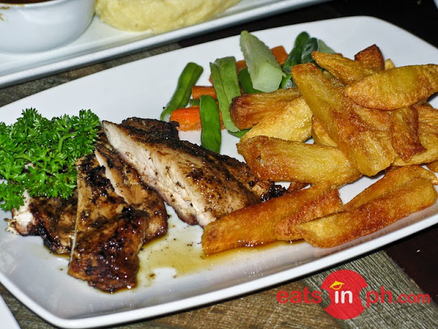 Blackened Chicken from Cottage Kitchen Cafe in Angeles City Pampanga