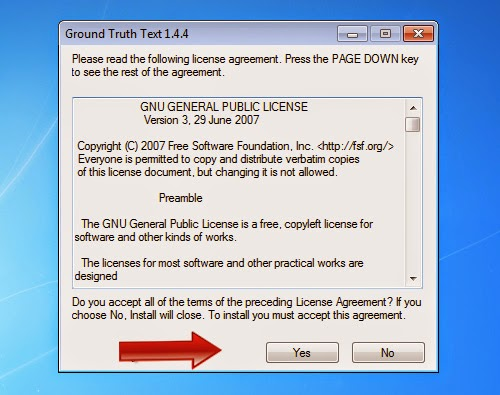 Install GT Text