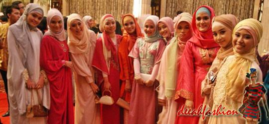 Jilbab Praktis Untuk Ke Pesta LuxLook