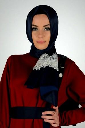 Silk-scarf