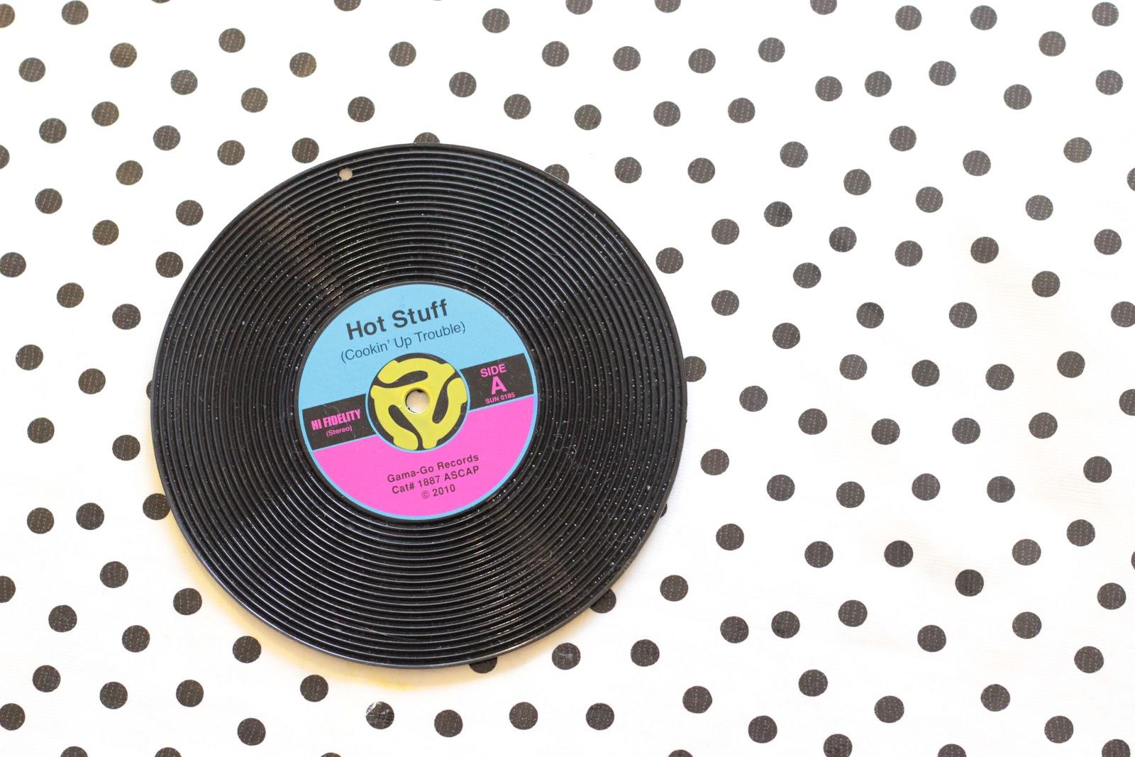dessous de plat vinyl