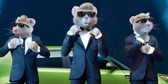 Kia Soul Hamster >> Why Would a Hamster Wear a Necktie?