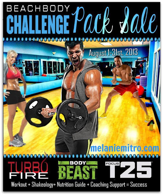 Turbofire, T25 and Body Beast on Sale Until August 31, 2013