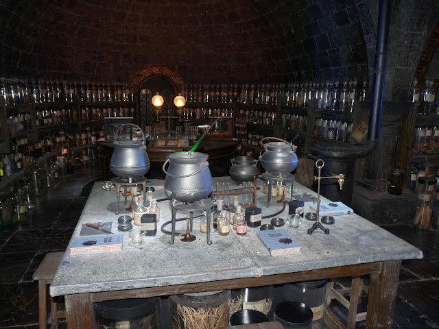 Potions Snape Harry Potter class
