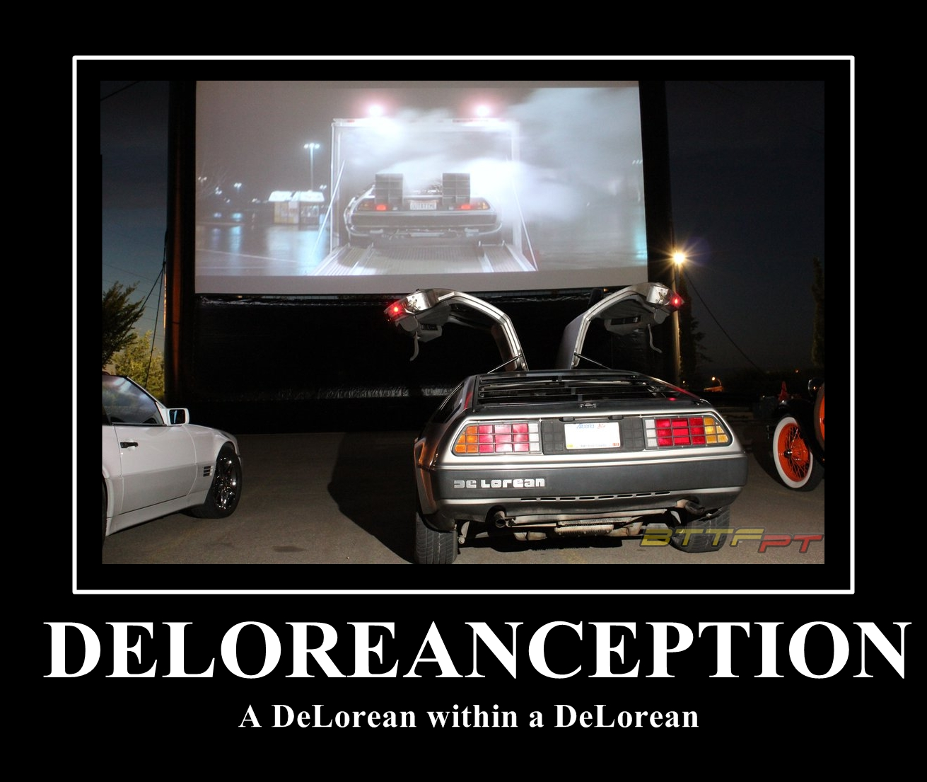 DeLoreanception