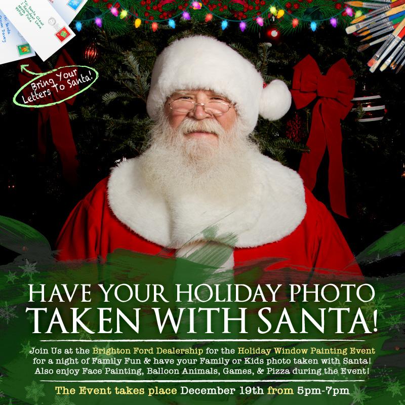 Santa Photos at Brighton Ford