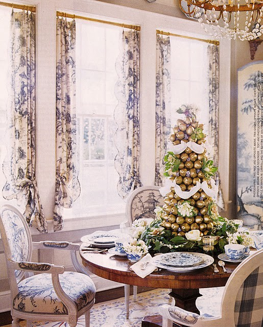 Elegant Southern Christmas: Chinoiserie Chic: A Chinoiserie Christmas