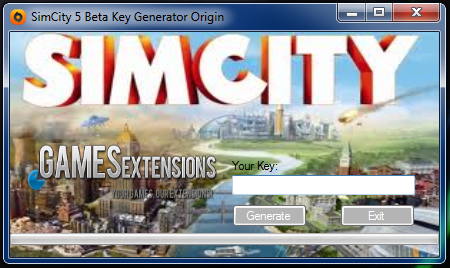 keygen simcity 5 origin