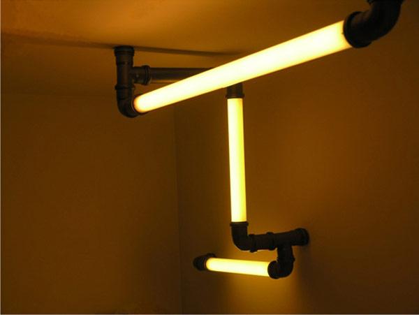 Hogares frescos tubos de iluminaci n at mica para - Bauhaus iluminacion interior ...