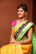 Sangeetha Kamath dazzling saree photos-thumbnail-10