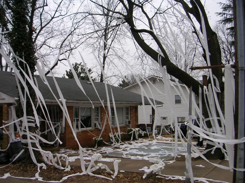 Astounding Origin Of Toilet Papering Houses Images - Exterior ideas ...
