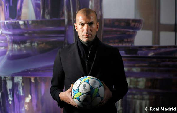 Zinedine Zidane Real Madrid vs Bayern Munich lo ganas tú