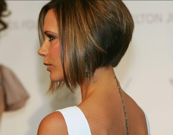 Growing out a wedge bob for Tattoo hair line