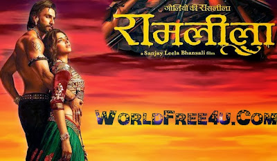 Poster Of Hindi Movie RamLeela (2013) Free Download Full New Hindi Movie Watch Online At worldfree4u.com