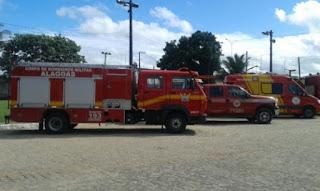 Corpo de Bombeiros de Arapiraca recebe novo carro de combate a incêndio
