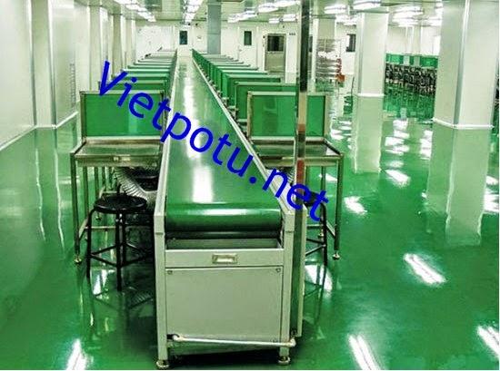 Thiết bị công nghiệp cao băng tải PVC
