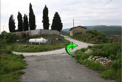 Cementerio, giro a la derecha