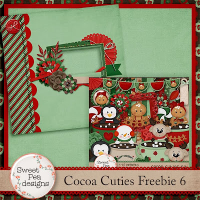 Cocoa Cuties Freebie 6 and Retiring Products Sale 75% off