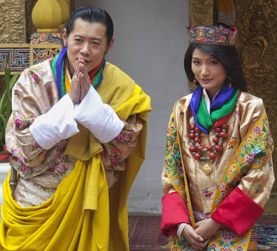Bhutan King Wedding Ceremony Picture