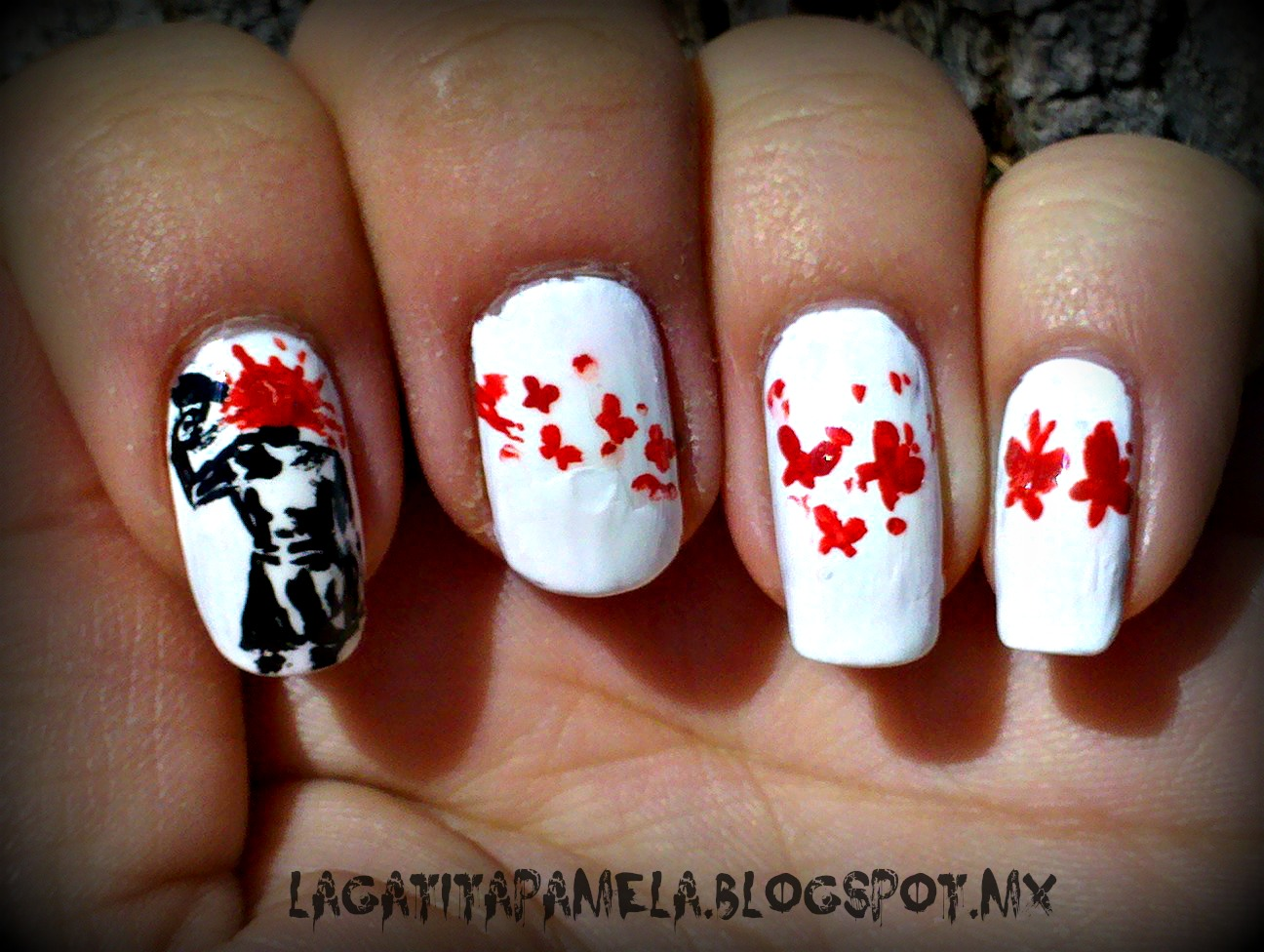 Makeup HD: emo nails-Arte de uñas EMO