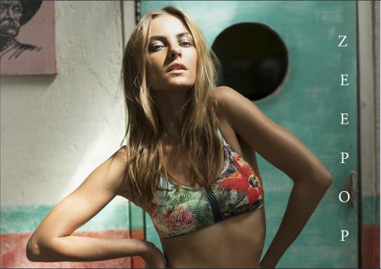 Gypsea Swimwear, Australian Label, Western Australia, nature, printed swimwear, Paradise Collection 2014/15, bikini, model