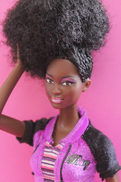 Beautiful Black Baby Doll Natural Hair