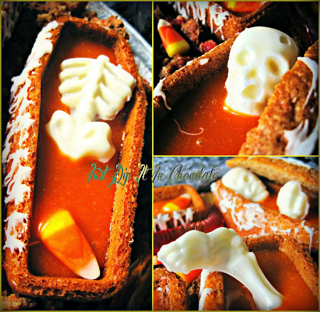 "Death by Candy Corn Carrot Cake Recipe, Poor Bones! He loved Candy Corn so much it took him to his grave ""Literally"" check out how by following this tasty recipe!...if you dare...."