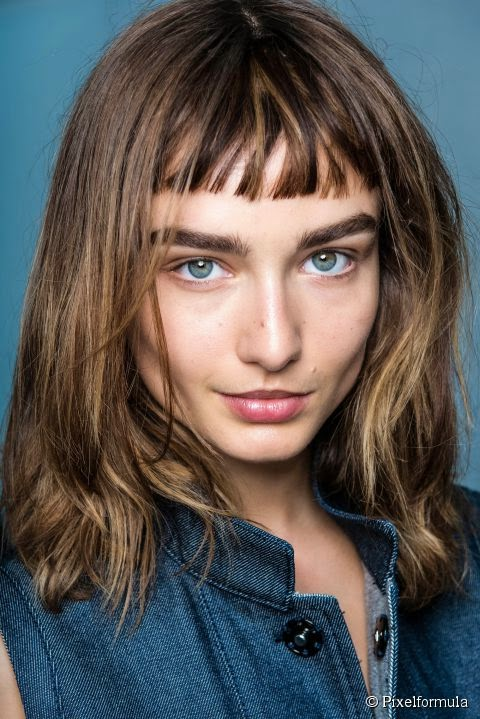 Hair style - Should you get a haircut with short micro bangs?