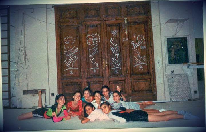 Tania Lamarca, Estela Giménez, Nuria Cabanillas, Marta Baldó, Lorena Guréndez, Estíbaliz Martínez
