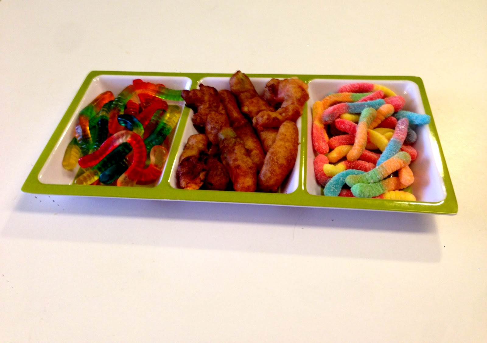 Have A Happy National Gummy Worm Day With Fried Gummy Worms! How To Eat