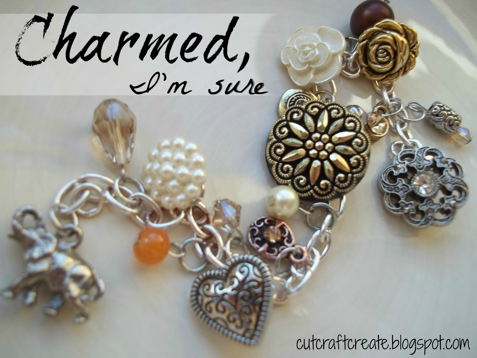 Make Your Own Charm Bracelet Using Ons