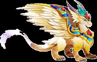 imagen del dragon arcangel adulto