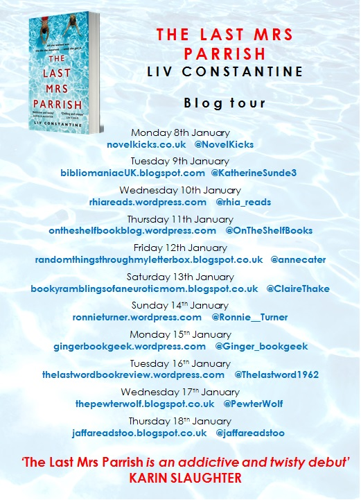 The Last Mrs Parrish Blog Tour