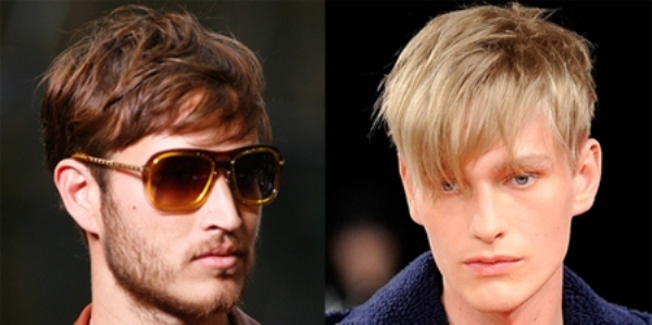 Medium-length hairstyles for men