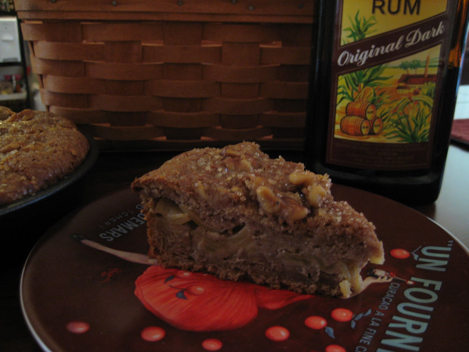 The Lush Chef: Ginger Apple Torte