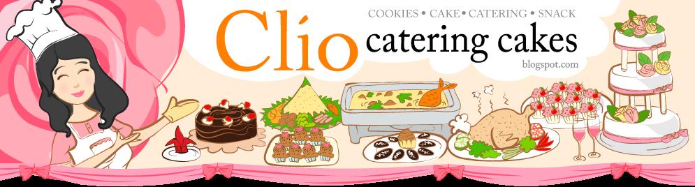clio catering  cakes