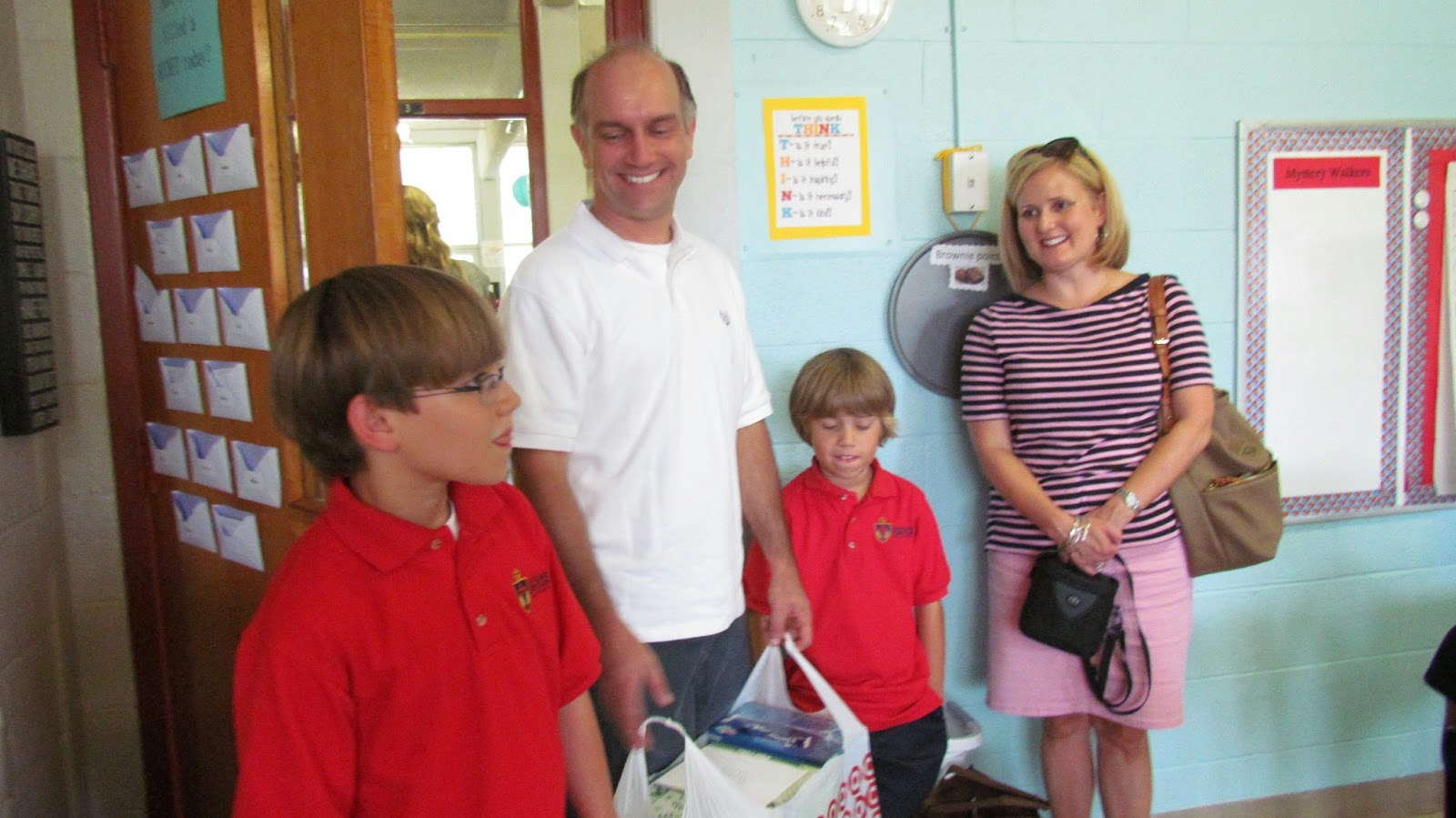 When Tanner Arrived He Let Us Know That Was Bringing Gifts Collected At His Birthday Party Recently Turned 10 Years Old