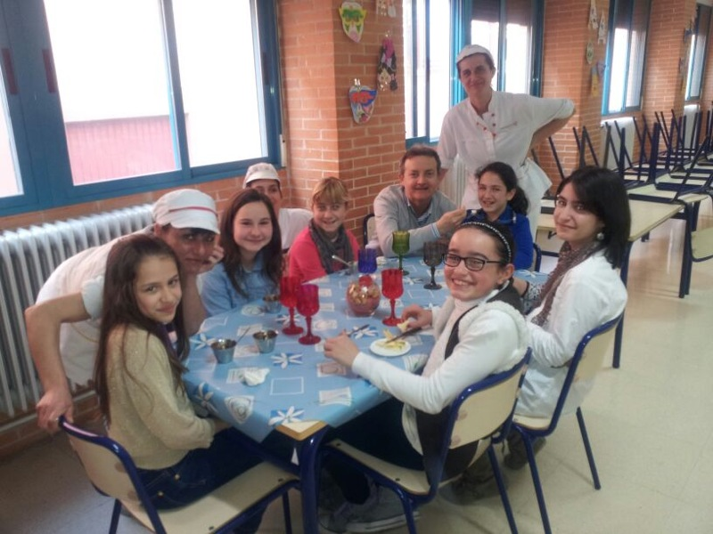Aprendemos a comer marzo 2013 for Proyecto restaurante escolar