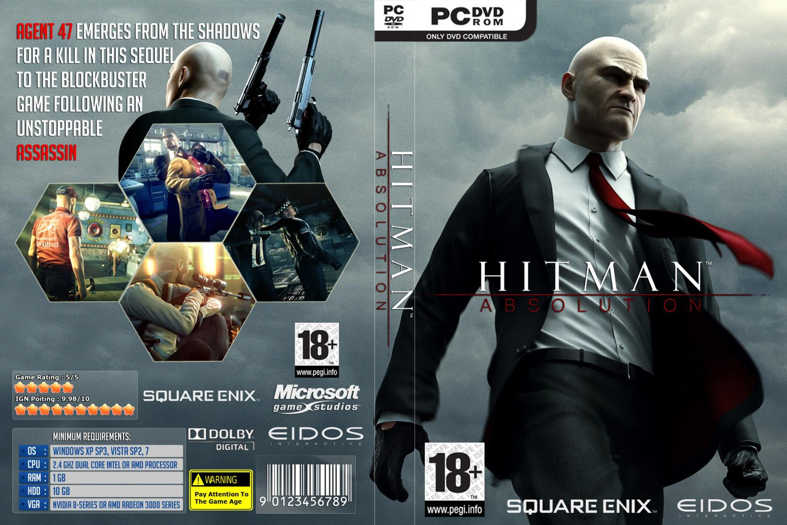 Capa Hitman Absolution PC