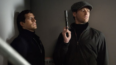 Henry Cavill as Napoleon Solo and Armie Hammer as Illya Kuryakin in Guy Ritchie's The Man From U.N.C.L.E.
