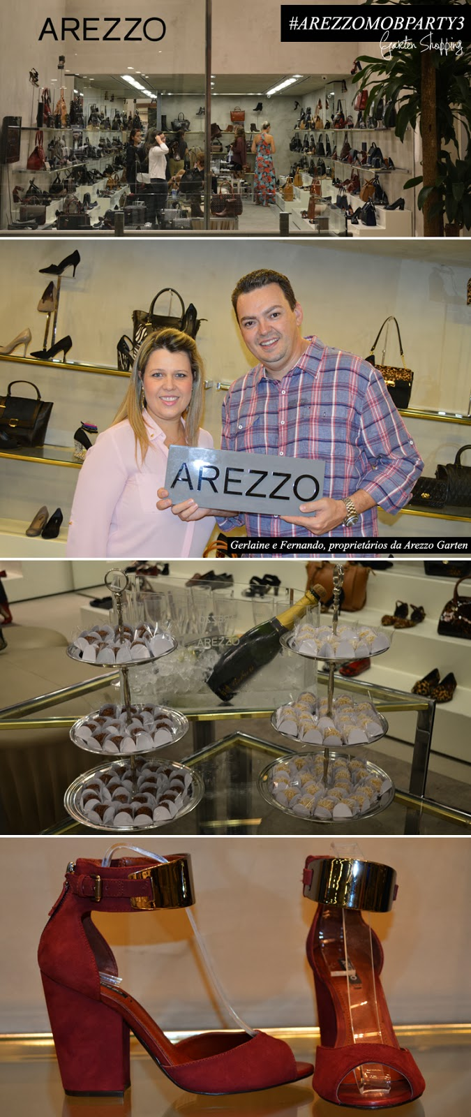 Arezzo, Joinville, Garten Shopping, mob party, 3, Arezzo Mob Party 3 - Garten Shopping
